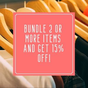 Bundle to save today! 🛍